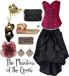 """The Phantom of the Opera"" by kerogenki on Polyvore"