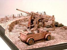 Tamiya 1:35 88mm Flak Gun Emplacement