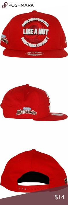 New Era 9FIFTY Men s CANDY SLOGAN MOUNDS Hat S-M New Era 9FIFTY Men s Red  CANDY SLOGAN 5bcbb582d82a