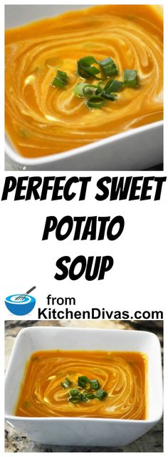 My late friend Marcel showed me the right way to make Sweet Potato Soup!  I couldn't believe her method but she was right. #sweetpotato #soup #dinner #lunch #recipe #food #foodidea