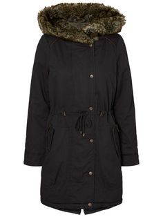 Ready for winter? Cover up in this lovely parka from VERO MODA.