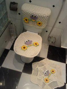 jogo de banheiro corujinha