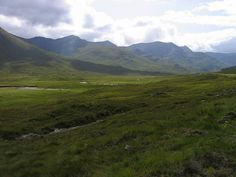 Highland scenery on the way to the isles