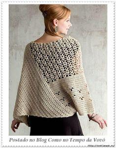Stylish pullover (Crochet) | Magazine Inspiration Needlewoman