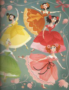 Brigette Barrager, FLOWER PRINCESSES ... beyond lovely!