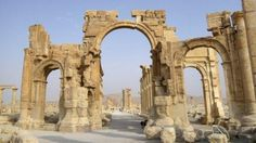 Arch of Triumph destroyed by IS militants in ancient Syrian city of Palmyra, official says http://bbc.in/1L9yGDs