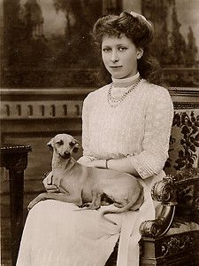 Princess Mary and an Italian Greyhound