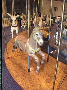 Rare carousel donkey, 1920s Children's Carousel