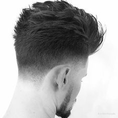 Mens Hairstyles With Beard, Hipster Hairstyles, Mens Hairstyles 2018, Boy Hairstyles, Haircuts For Men, Medium Beard Styles, Hair And Beard Styles, Short Hair Styles, Taper Fade Haircut