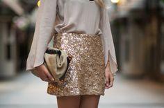 sequin skirts <3 love love love