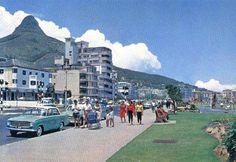 Sea Point during the sixties - Cape Town photos / South Africa Old Pictures, Old Photos, Cape Town South Africa, Beer Garden, Live, Dolores Park, Street View, African History, Nostalgia