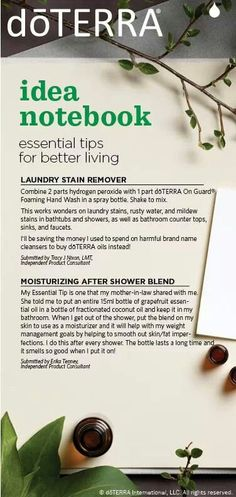 Stain Remover After shower moisturizing blend