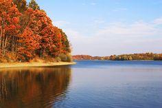 """York, PA: """"Lake Marburg in York County, Pennsylvania"""""""