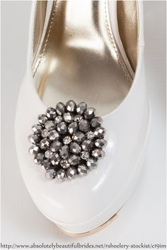 Shoelery available from Absolutely Beautiful Brides, Gordon's Bay, Western Cape Your Shoes, New Shoes, Shoe Clips, Beautiful Bride, Diamond Earrings, Cape, Brides, Jewelery, Footwear