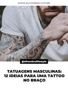 tatuagem, masculina, tatuagens, masculinas, tattoo, braço, fotos, inspiração Character, Men Tattoos, Tattoo, Moda Masculina, Men's, Pictures