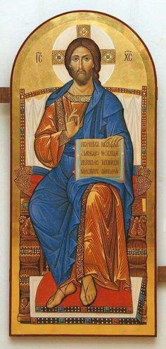 Byzantine Icons, Byzantine Art, Pictures Of Jesus Christ, Religious Pictures, Religious Icons, Religious Art, Jesus Tatoo, Christ Pantocrator, Christian Artwork