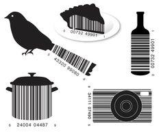Vanity Barcodes: Art Worth Checking Out Barcode Art, Barcode Tattoo, Barcode Design, Service Assiette, Web Design, Graphic Design, Logo Design, 7th Grade Art, Inspiration Art