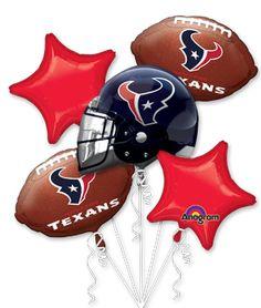 Texans balloons