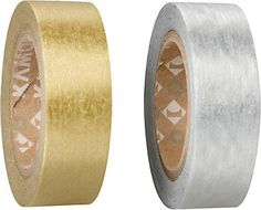 Silver & Gold Masking Tape