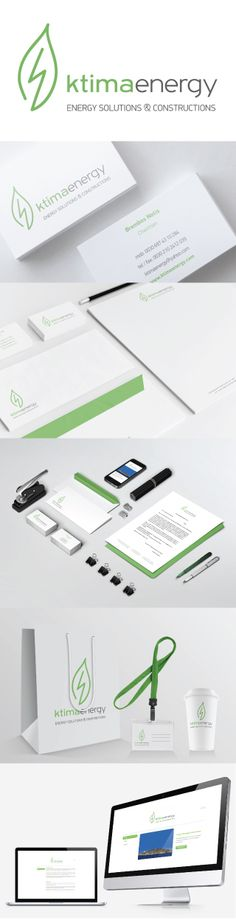 Corporate Identity detailed presentation including the logo, the integral brand identity (business cards, letterhead etc), website presentation and mobile optimization, as well as several applications needed for the company's project presentment such as goodie bag, visitor's pass and paper coffee cup. Brand Identity Design, Brand It, Visual Communication, Letterhead, Corporate Identity, Coffee Cups, Business Cards, Presentation, Website