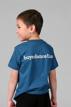 BOYSDANCETOO. Statement Tee - BOYS by boysdancetoo. | boysdancetoo. - the dance store for men