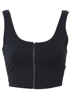 TOP BERSHKA COLLECTION BLACK Bershka Collection, Basic Tank Top, Tank Tops, Goth, Outfits, Black, Anime, Women, Fashion