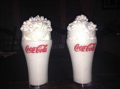 Vanilla bean Frappachino!  ~ 6 ounces of skim milk ~ 3 ounces of French vanilla liquid coffee creamer  ~ 2 scoops of vanilla ice cream  ~ 10 ice cubes ~ a splash of vanilla extract ENJOY! ❤️
