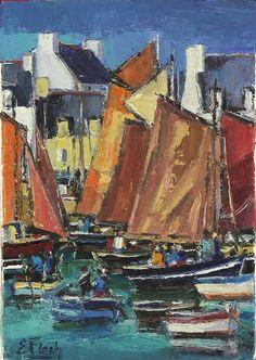 Eric Floch le port de Lesconil