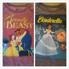 I love my #Disney sweaters I got from #Forever 21. #Cinderella #beautyandthebeast