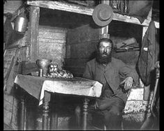 """Ready for Sabbath Eve in a Coal Cellar -- Jacob Riis    Documenting """"The Other Half"""": The Social Reform Photography of Jacob Riis and Lewis Hine"""