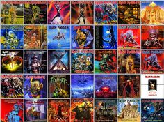 #IronMaiden Ultimate Discography #Eddie #UpTheIrons
