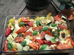Italiaanse ovenschotel met krieltjes, kip en groenten - Familie over de kook