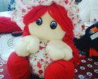 Boneca de tecido - Boneca de Fuxico