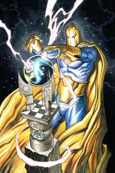 Dr Fate by Chad Hardin Marvel Dc Comics, Dc Comics Heroes, Dc Comics Characters, Dc Comics Art, Dr Destino, Kent Nelson, Gi Joe, Dc Doctor, Dr Fate
