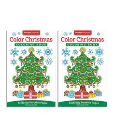 Look what I found on #zulily! Mini Christmas Coloring Book - Set of Two #zulilyfinds