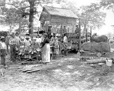 Tobacco curing barn 1926 by State Archives of North Carolina, via Flickr