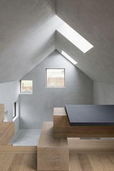 Beton in der Backsteinhülle - Scheunenumbau in Flandern