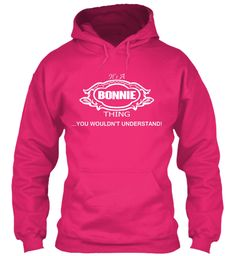 Bonnie Thing Tshirt Heliconia Sweatshirt Front