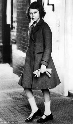 1939 Princess Elizabeth (via The Life Of A Queen In Pics)