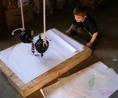 Filth Wizardry: science-harmonograph experiments-this mom is awesome
