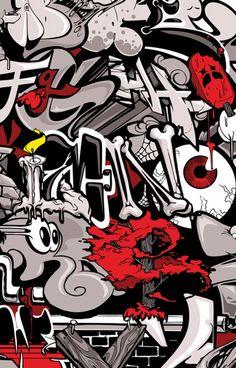 3D Graffiti Letters A-Z | 3D graffiti alphabets Graffiti alphabet letter wall street mural