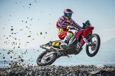Honda: Joan Barreda at Joan Barreda presentation High-Res Professional Motorsports Photography Rallye Paris Dakar, Rallye Raid, Motogp Valentino Rossi, Enduro Motocross, Freestyle Motocross, Japanese Motorcycle, Off Road Adventure, Dirtbikes, Cool Bikes