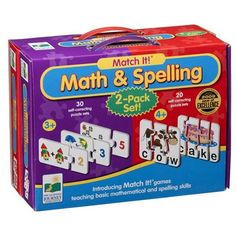 Learning Journey Maths And Spelling Twin Pack T Games, Early Education, Learning Resources, Spelling, Twins, Packing, Journey, How To Plan, Maths