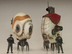 ジャンクプラント » 多脚歩行ロボット