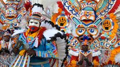 JUNKANOO PARADE. Dec 26, 2014. Nassua, Bahamas. Nassua's all-night party Junkanoo parade, with the color, music, passion, and cultural flair to compete with any carnival around the world.