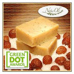 NaturOli Soap Nut / Soap Berry Soap Bars - All Natural, All Body. Enjoy the benefits of Soap Nuts in Handmade Soap Bars! Made with USDA Certified Organic Soap Nuts. by NaturOli. $12.00. The Original NaturOli Soap Nuts Soap Bar! -- Another NaturOli exclusive! ---------  TWO 2.4+ ounce handmade Soap Bars.. Slightly exfoliating Soap Bar. Excellent handmade natural cleansing bars. Rich in antioxidants. Anti-aging properties. Very nourishing.. Saponin and Extra Virgin ...