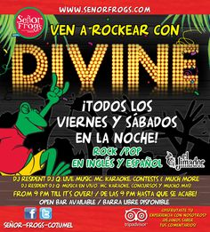 WE ROCK!!! Friday's & Saturday's DIVINE BAND rocking the house from 9.30pm till it's over!!!