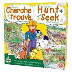 Cherche et trouve - La ferme de Foin-Foin boîte / Hunt and Seek - The Friendly Farm box