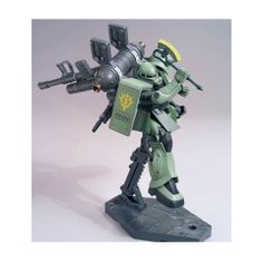 MS-06 Zaku|| + Big Guns (Mobile Suit Gundam Thunderbolt):...