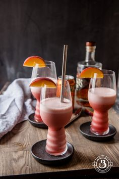 Beer Cocktail: Raspberry Peach IPA Slushies